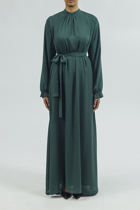 Chiffon/Dress - Emerald