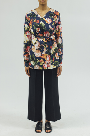 ST/Crossover Tunic - Floral