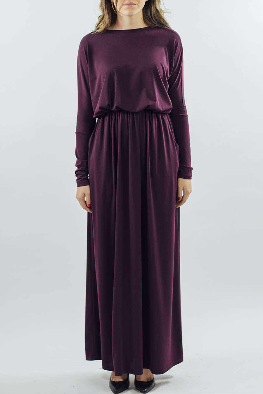 Signature/Dress - Plum