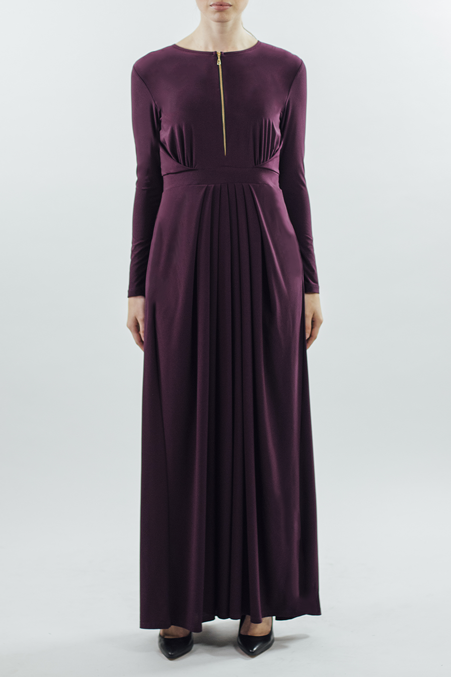 Aureate/Dress - Plum