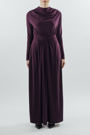 Drape/Dress - Plum