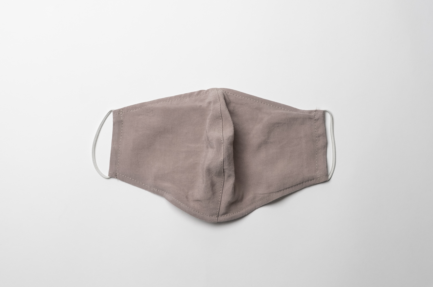 Reusable Eco Friendly Face Cover - Taupe Linen