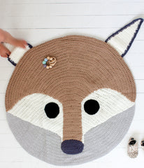 Crochet Playmat (Tan Fox)