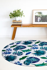 Indoor/Outdoor Playmat (Jungle Leaves)