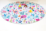 Indoor/Outdoor Playmat (Floral Woodland) LAST ONE!