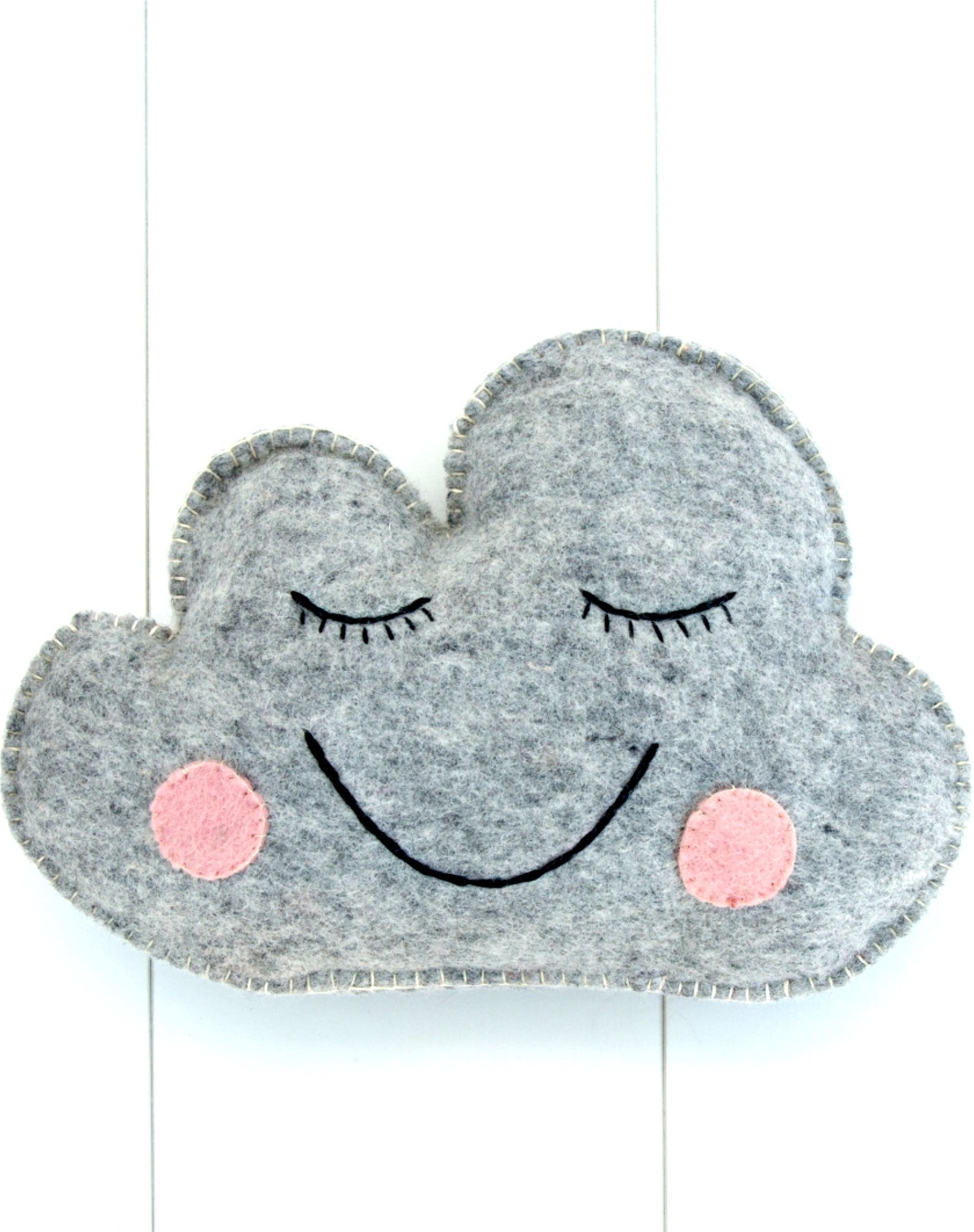 Felt Cloud Cushion