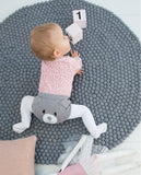 Felt Ball Rug (Pebble Grey)
