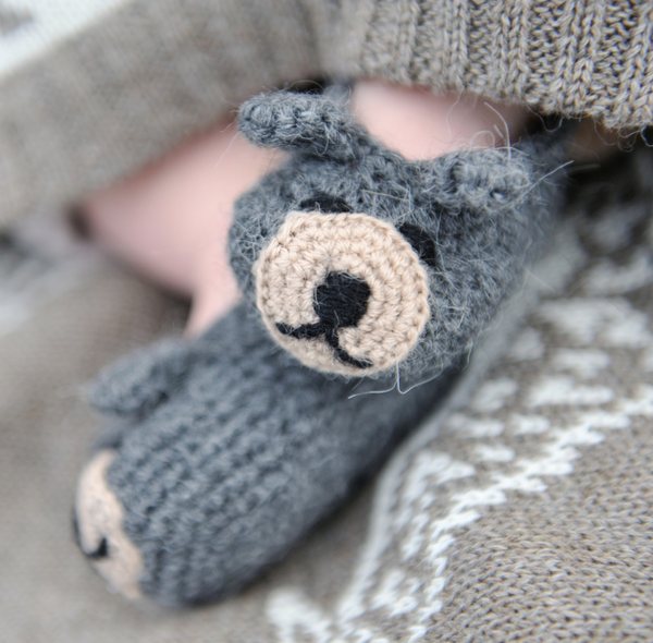 Handmade Bobby Bear Booties