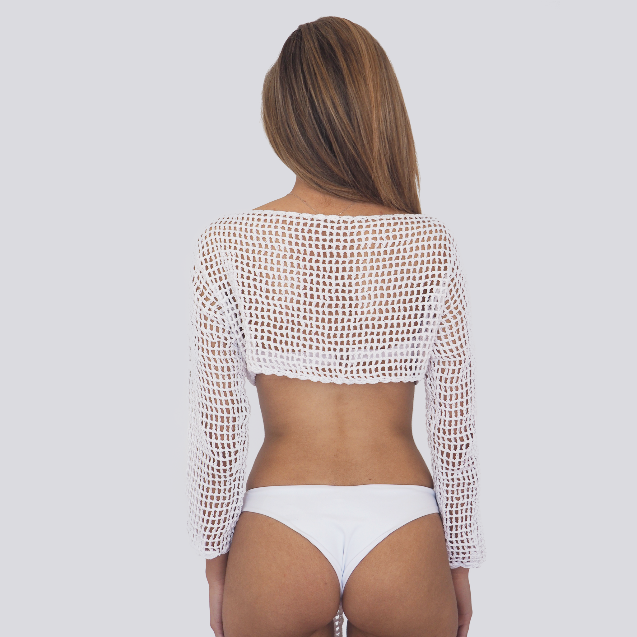ELLIE TOP // CROCHET