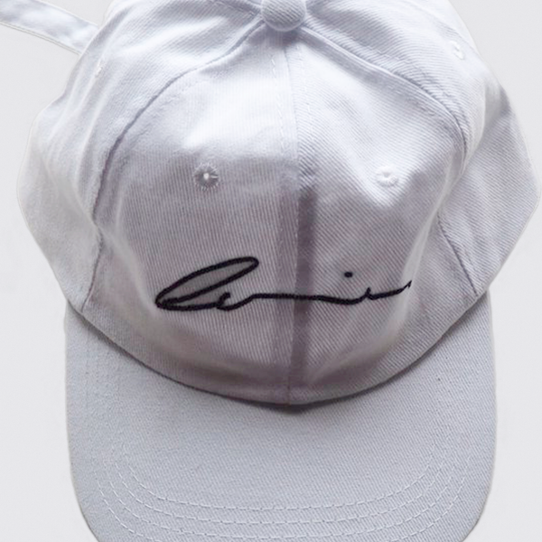 SIGNATURE CAP // FRESH WHITE