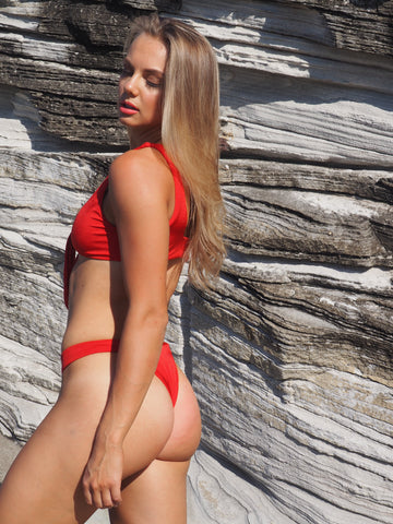 GEORGE BIKINI // RED