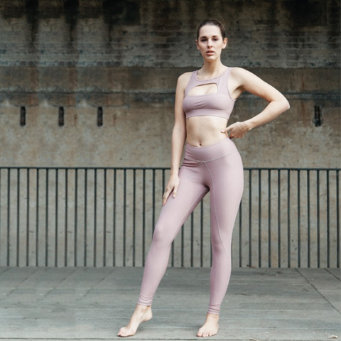 STARLET BLUSH // ACTIVE LEGGINGS