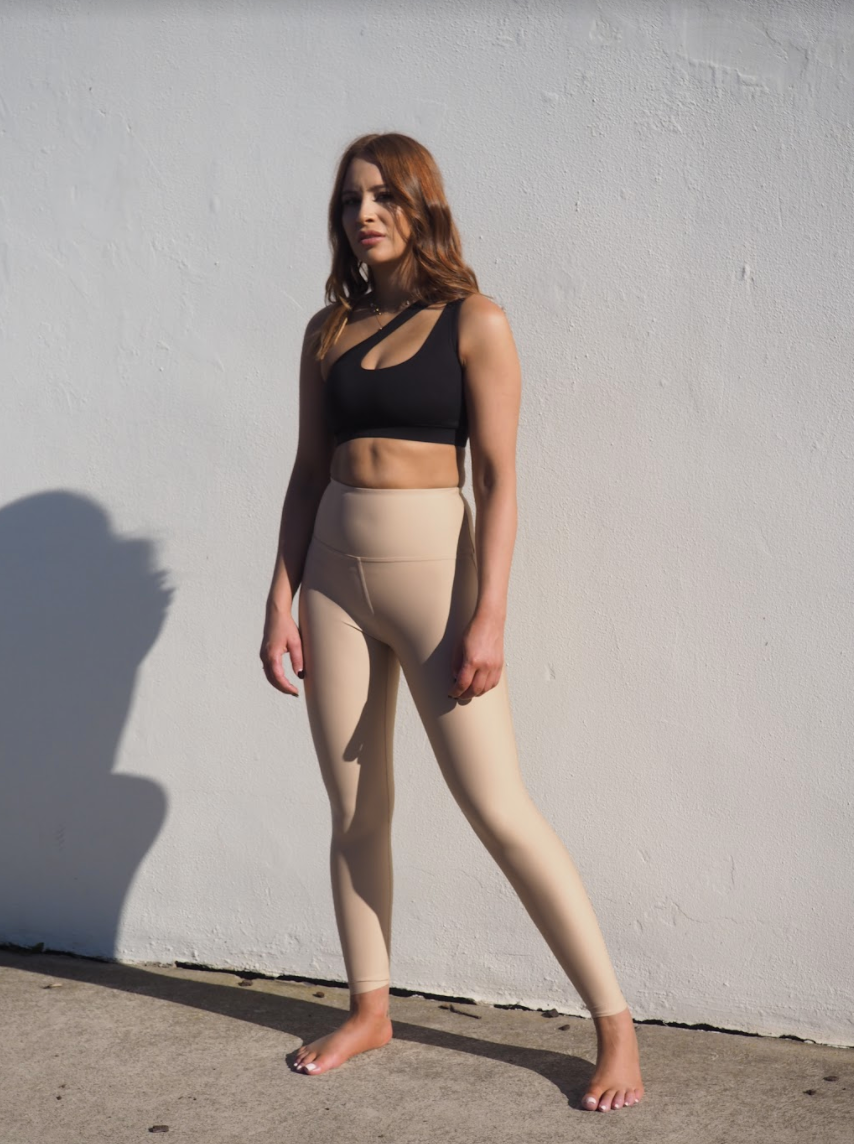 CELINE LEGGINGS // LIGHT TAN
