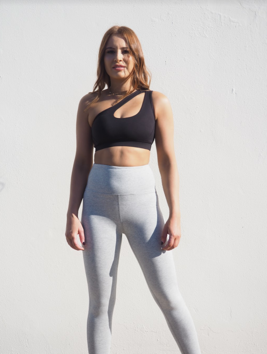 KYE ACTIVE CROP // BLACK