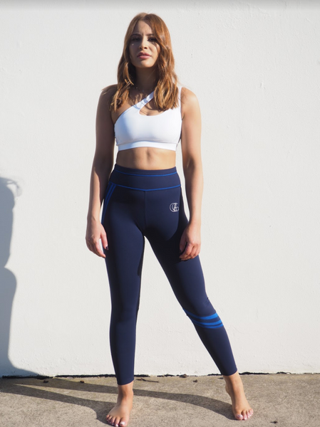 ASHTON COURTSIDE LEGGINGS // NAVY