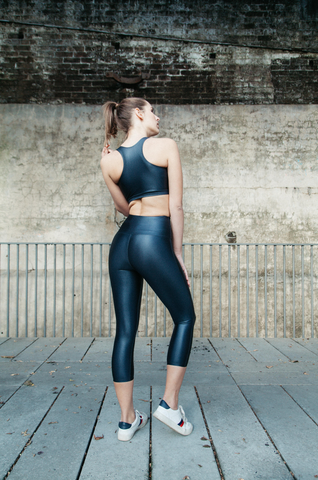CELINE LEGGINGS // ELECTRIC BLUE