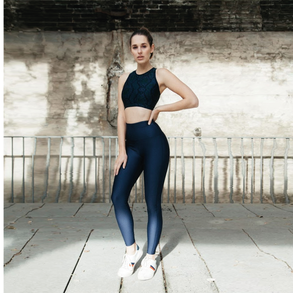 CELINE LEGGINGS // NAVY