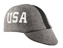 Wool 3-Panel Marquee Cap - Side Lettering
