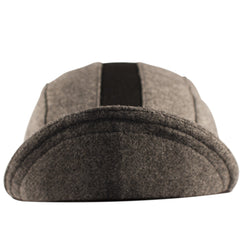 Grey/Black Wool 3-Panel