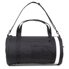 "Walz-Brand Canvas ""Boom"" Bag #02 - Black"