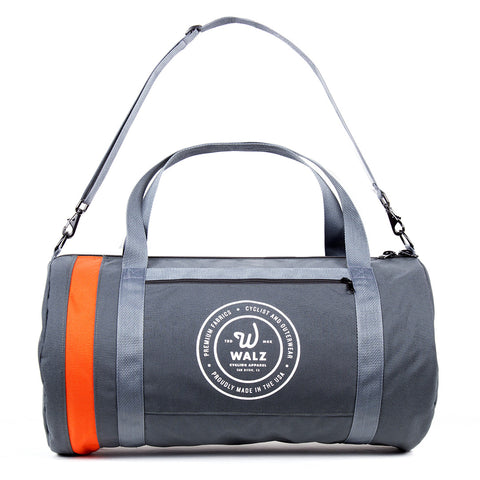 "Walz-Brand Canvas ""Boom"" Bag #04 - Slate"