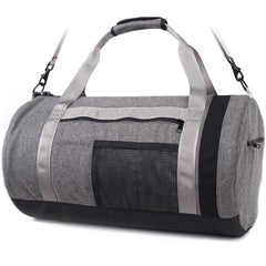 "Walz-Brand Wool ""Guide"" Duffel #06 - Charcoal"