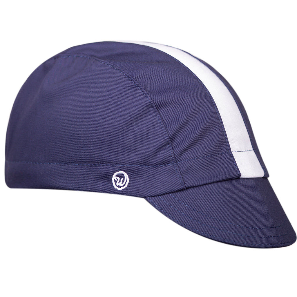 ed070feef Midnight Blue Fast Cap – Walz Caps - Classic American Cycling Caps