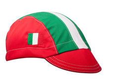 Italy 3-Panel Cotton Cycling Cap