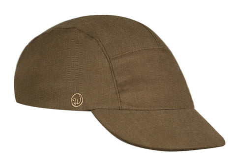 Velo/City Cap - Olive Cotton