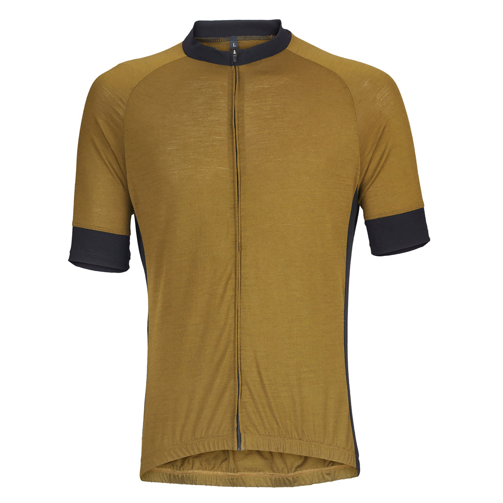 Army Olive Merino Wool Jersey