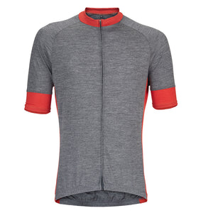 Gull Gray Merino Wool Jersey