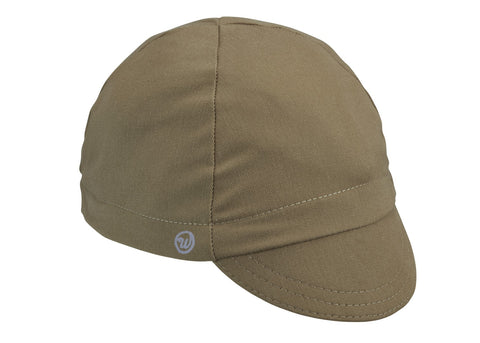 Khaki Cotton 4-Panel