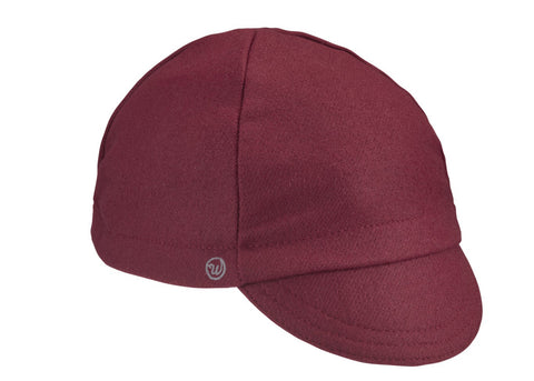 Maroon Wool 4-Panel