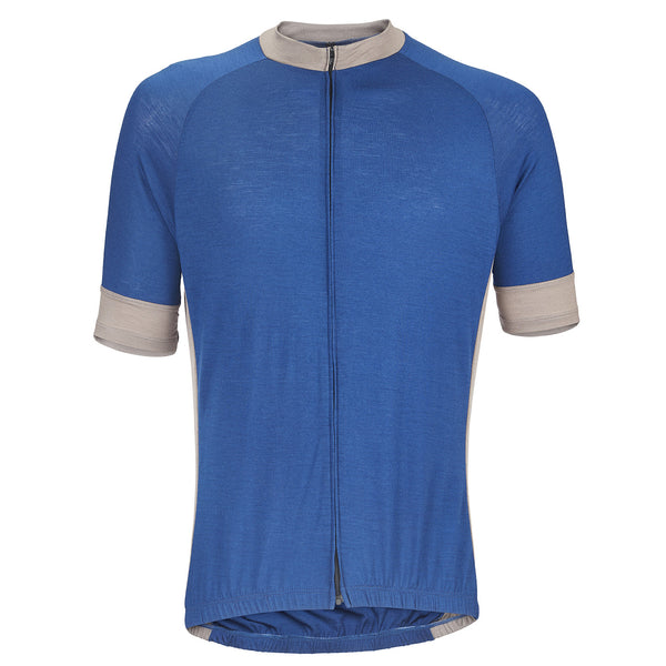 Royal Blue Merino Wool Jersey