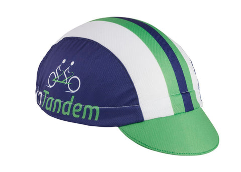 "Cap For A Cause ""In Tandem"" Technical Cycling Cap"