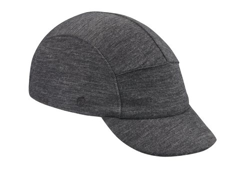 Velo/City Cap - Charcoal Grey Merino Wool