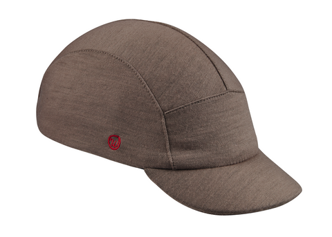 Velo/City Cap - Grey Merino Wool