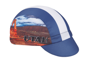 Utah Technical Cycling Cap