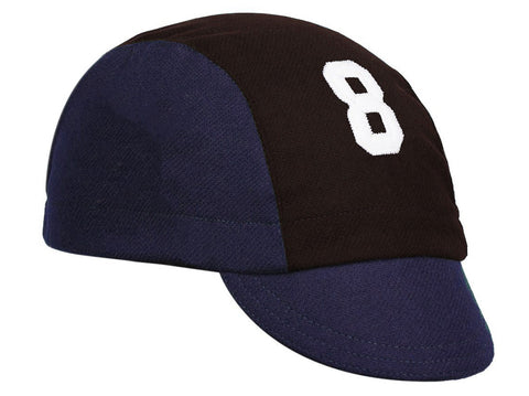 Wool 3-Panel Marquee Cap - Front Lettering