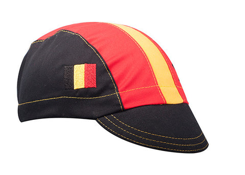 Belgium Cotton Cycling Cap