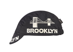 Brooklyn Black Cotton Cycling Cap *NEW*