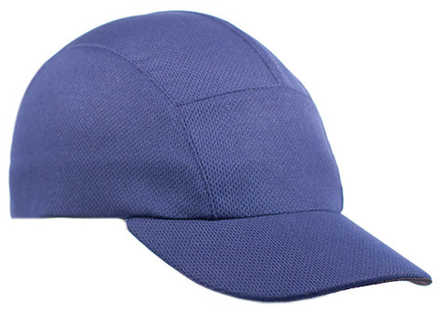 Navy Moisture Wicking Running Cap
