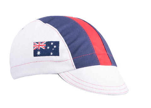 Australia Cotton Cycling Cap