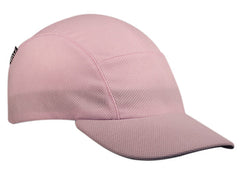 Pink Moisture Wicking Running Cap