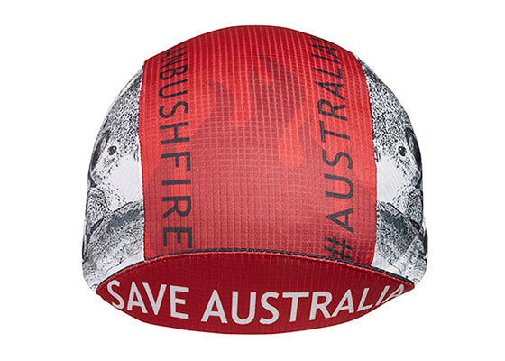 "Cap For a Cause - ""WIRES"" Save Australia Technical Cycling Cap"