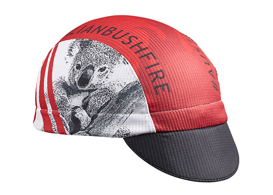 "Cap For A Cause- ""WIRES"" Save Australia Technical Cycling Cap"