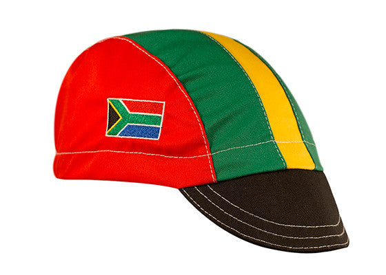 South Africa Cotton Cycling Cap