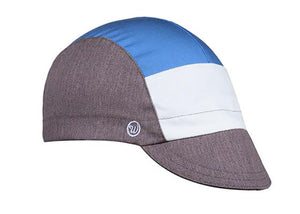 Tri-Tone Heather & Sky Cap