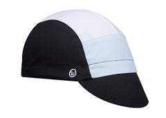 Tri-Tone Black Cotton Cap
