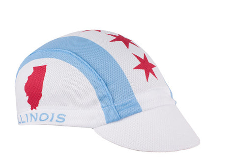 Illinois Technical Cycling Cap